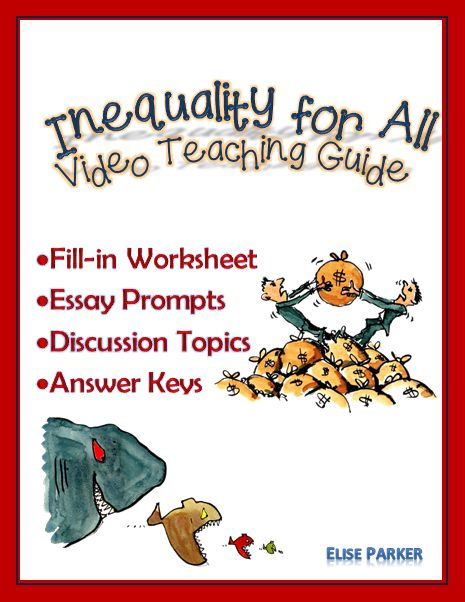 inequality for all worksheets essay prompts and discussion  inequality for all worksheets essay prompts and discussion topics essay topics prompts and worksheets