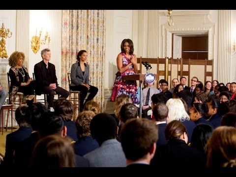 The First Lady Speaks at the History of Gospel Music Workshop