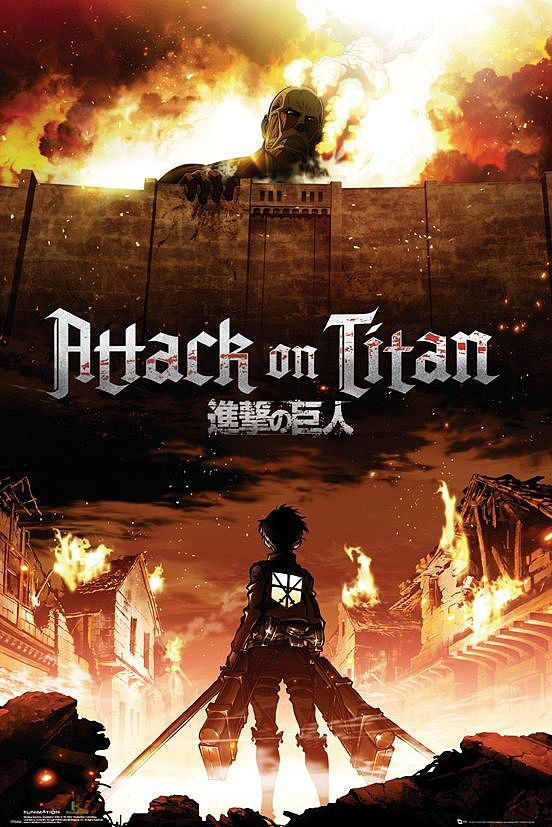 Attack On Titan Poster Andere Fanartikel Bei Close Up Erhaltlich Attack On Titan Poster Manga Anime Animation De Personnage Fond D Ecran Dessin Art Manga