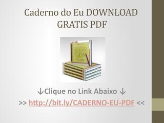 Livro Caderno Do Eu Pdf Gratis Download Download Gratis