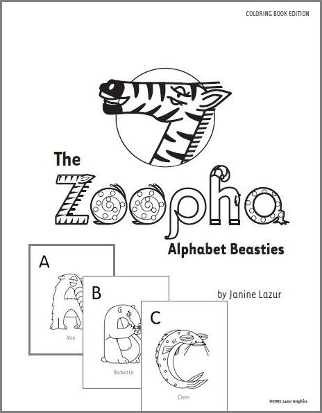 26 page Coloring Book :)