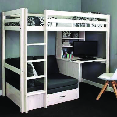 Suitable Loft Bed With Desk Fantastic Furniture That Look