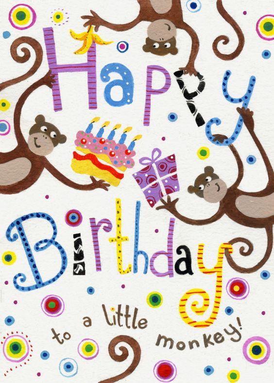 Jane Heyes - Birthday cheeky monkey 350.jpg: