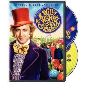 Willy Wonka & Chocolate Factory DVD. $9.99 on Amazon.
