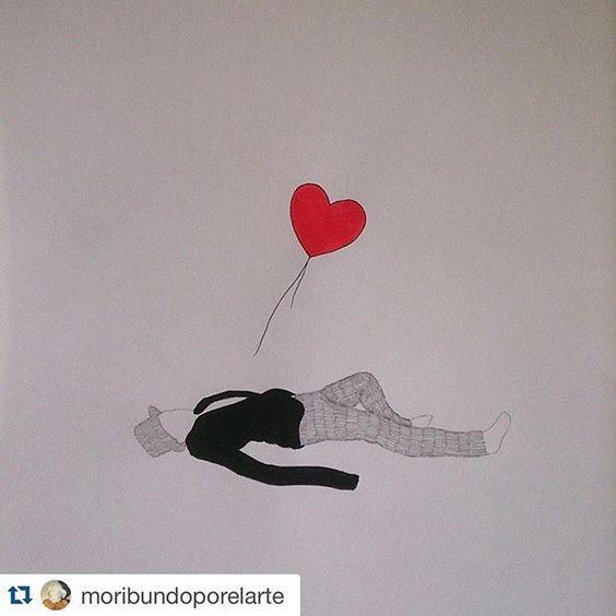#Repost @moribundoporelarte  Amor mío en la guerra saber ser un buen perdedor es más importante que la paz o el amor #Nachovegas #art #arte #contemporaryart #artecontemporaneo #exposición #exhibition #puppet #marioneta #Banksy #corazones #love #99redballons #ilustración #ilustration #draw #dibujo #papel #paper #workinprogress #artwork #grafito #graphite #lápiz #pencil #amor