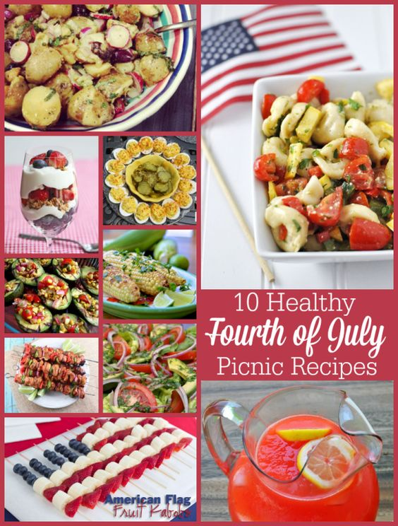 fourth of july healthy foods