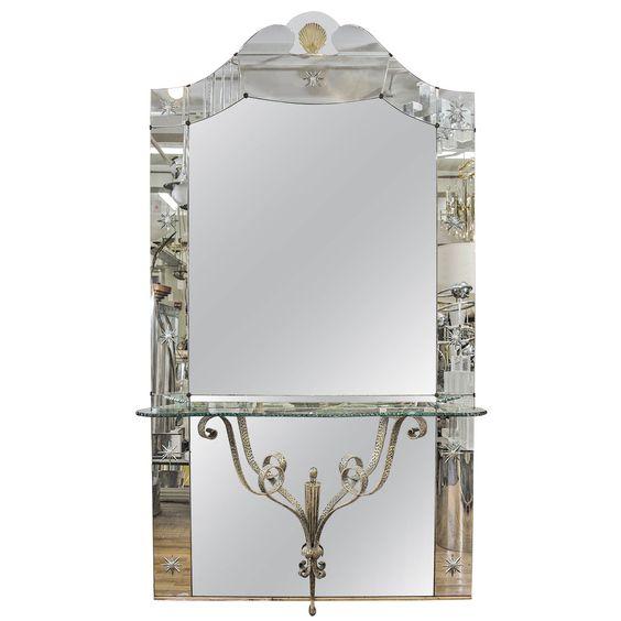 Pinterest the world s catalog of ideas for Full length mirror with shelf