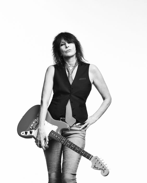 "Chrissie Hynde is the front woman of the band, The Prentenders. She sings and plays the guitar. Hynde is a long time vegetarian and an advocate of animal rights. In late 2007, Hynde opened her very own vegetarian restaurants in Akron, Ohio, called ""Vegiterranean."""