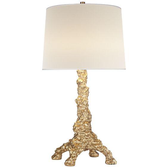 Gilded Pumpice #Table #Lamp #Mecox #interiordesign #home #decor #design #MecoxGardens