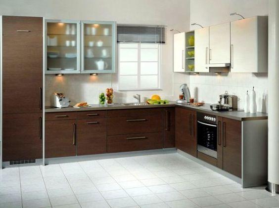 Modern l shaped kitchen kitchen designs with islands for Kitchen designs normal