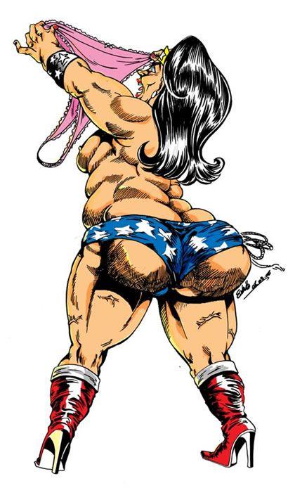 Mujer Maravilla Gorda 6