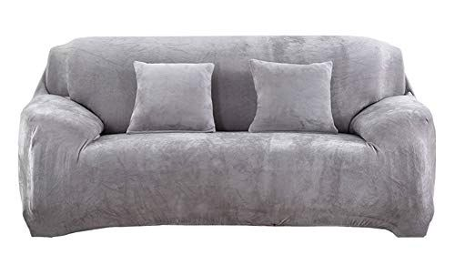 Icegrey Sofa Slipcover Loveseat Protector Couch Cover Stretch Light Grey Sofa 76 90 In Check Out This Great Pro Light Gray Sofas Sofa Covers Slipcovered Sofa