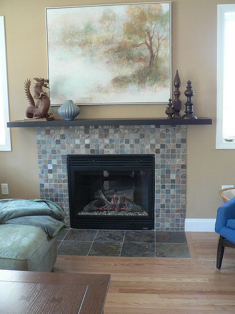 Good Idea To Add Ikea Shelf Over Fireplace For Mantel Home Inspiration Diy Ideas Pinterest
