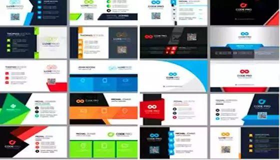 كروت شخصية 100 كارت شخصي مميز بصيغة Psd لمصممي الدعاية والإعلان 100 Business Cards Cards Photoshop Psd