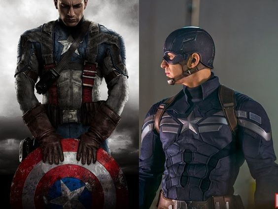 I liked his original uniform the best, from the first movie! It's like a mix of soldier and superhero!