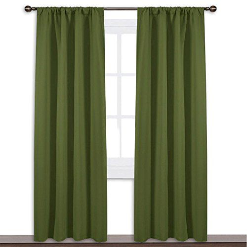 Nicetown Blackout Curtain For Kitchen Window Function T Https Www Amazon Com Dp B01kwoya0e Re Kitchen Window Curtains Blackout Curtains Kitchen Curtains