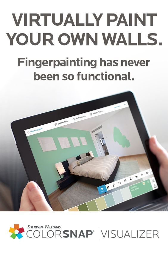 Studios colors and night on pinterest for Virtually create your own room