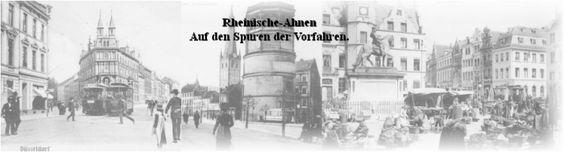 Rheinische Ahnen -Forum und Datenbank zur Familienforschung