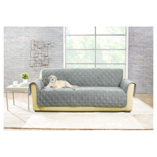 Non Slip Waterproof Sofa Furniture Cover Sure Fit With Images Sofa Furniture Furniture Waterproof Furniture