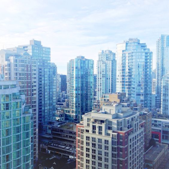 City of glass! Vancouver, Canada.