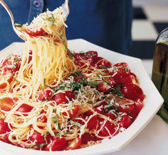 Ina Garten 39 S Summer Garden Pasta Favorite Recipes