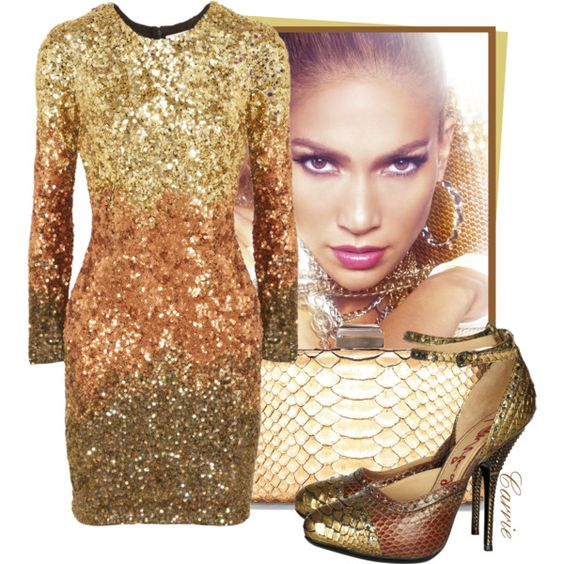 """Sparkle in Gold!"" by goldieazcmd on Polyvore"