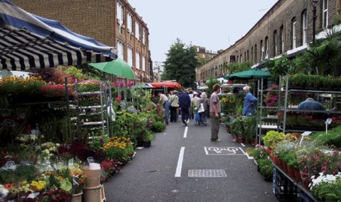 Columbia Road Flower Market. Perhaps one of my favourite places.