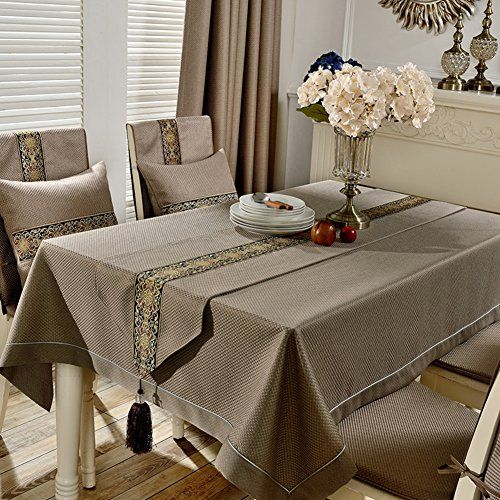 European Tablecloth Fashion Dining Room Set Table Linen Rural