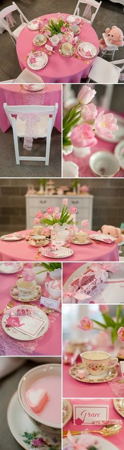 Thanksadorable little girls tea party awesome pin