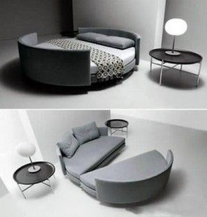 Snappy convertible sofa bed