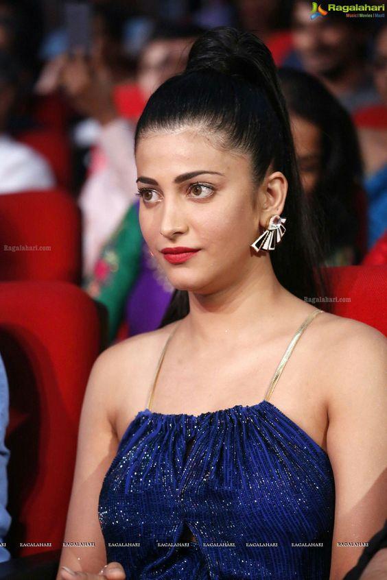 Hassan blue dress