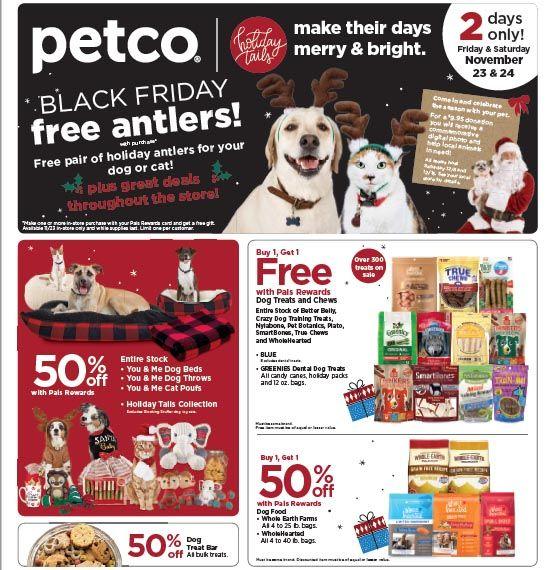 Sneak Peek At Petco S Black Friday Sales Petguide Petco Black Friday Ads Black Friday