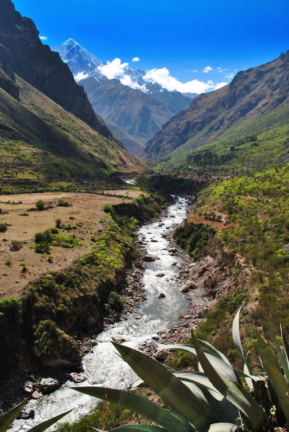 Inca Trail - The Inca road system was the most extensive and advanced transportation system in pre-Columbian South America.[