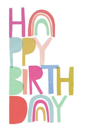 Advocate Art London Marbella New York Happy Birthday Cards Birthday Cards Birthday Card Template