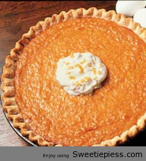 Miss Robbie shares her Sweet Potato Pie Recipe