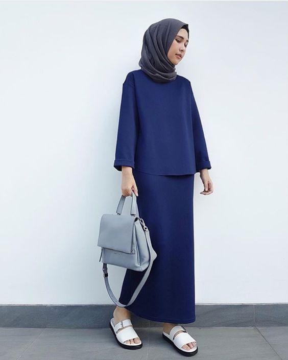 Blue Outfit Hiab Street                                                       …