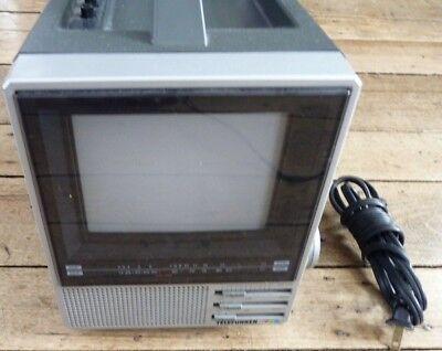 Rare Telefunken Y2040 Portable Black White Digital Tv