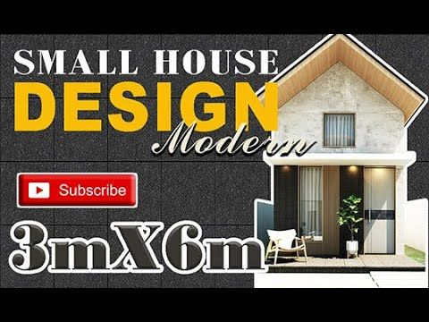 Small House Design 3x6 Meters Youtube House Design Tiny House Floor Plans Small House Design