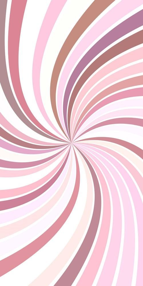 Pink Psychedelic Abstract Spiral Stripe Background Vector Curved