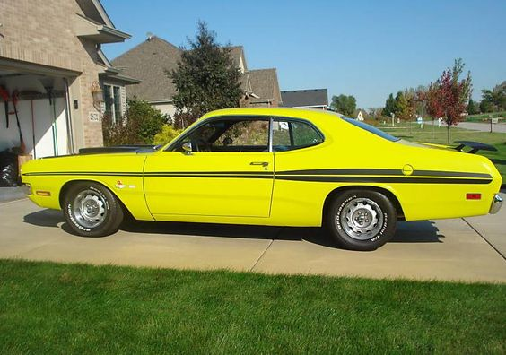 1971 Cars | Check out this muscle car from the 70′s. This Curious Yellow 1971 ...