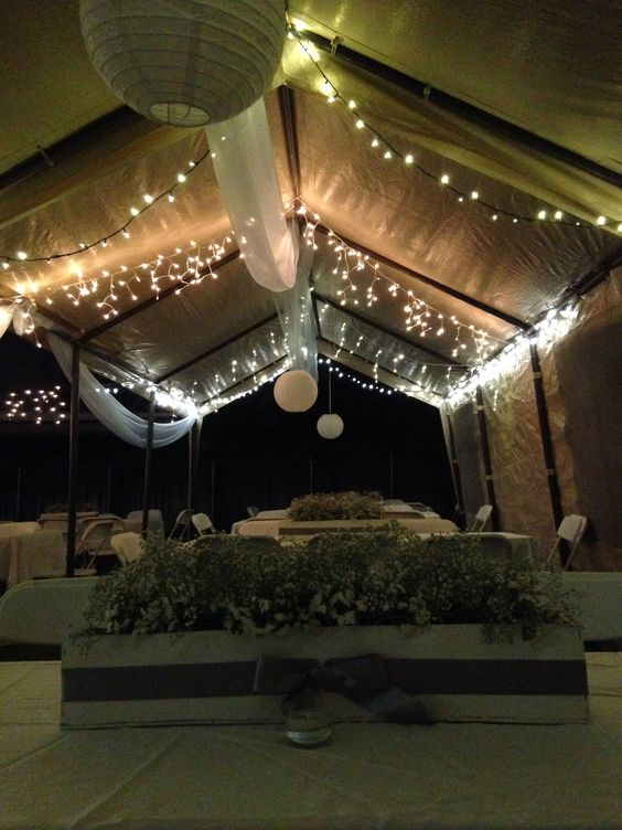 Baptism Party Decoration All In White Outdoors Decorations Party Decoration Pinterest