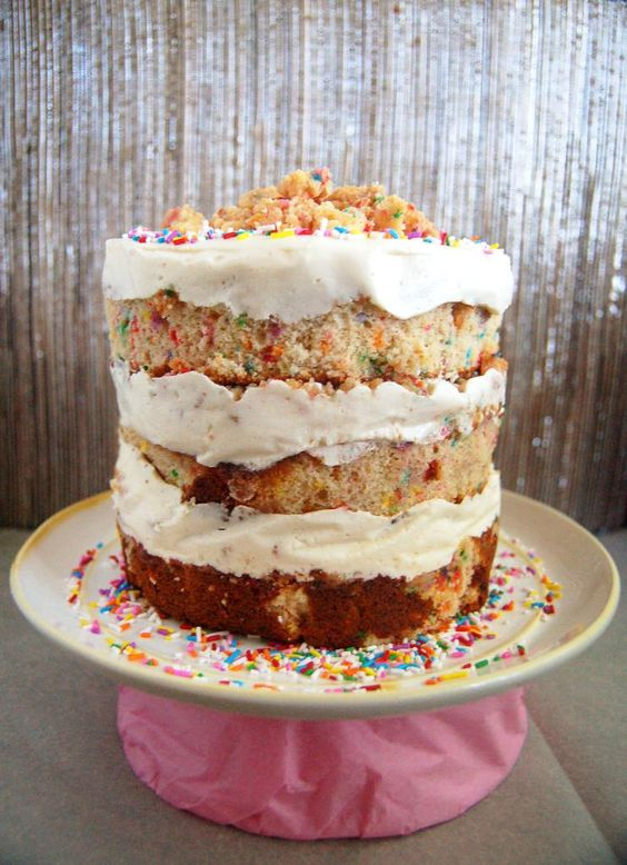 Culinary Cool: Birthday Layer Cake