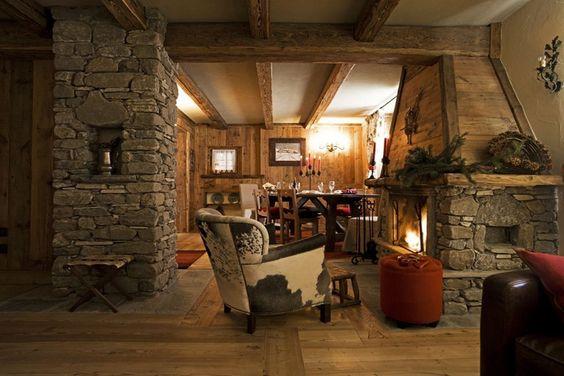 Chalet interni cucina cerca con google casa dolce casa for I piu bei interni di case