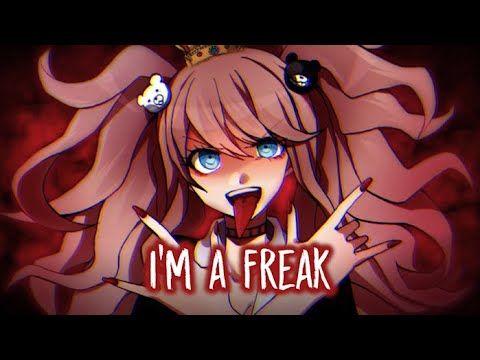 Nightcore Queen Of The Freaks Aviva Lyrics Youtube Nightcore Anime Lyrics