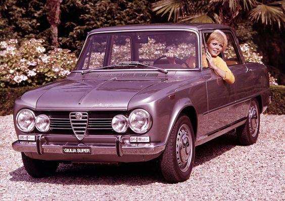Alfa Romeo - Giulia 1600 Super