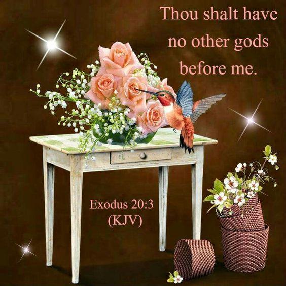 Exodus 20:3 KJV
