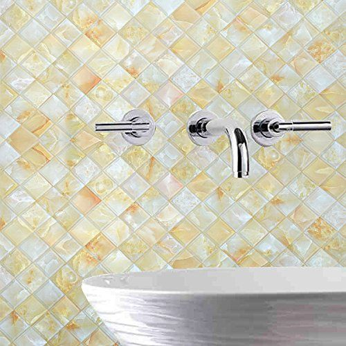 Selbstklebende Tapete Fliesen Aufkleber Bad Badezimmer Wasserdicht