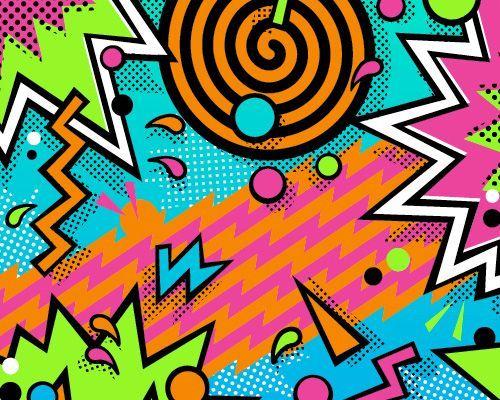 90s background design