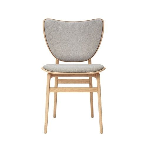 Norr11 Elephant Dining Chair Natural Oak Wool Chair