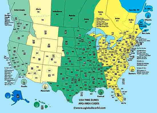 Us Area Code Time Zone Images Marrying And Sponsoring - Canada and us time zone map